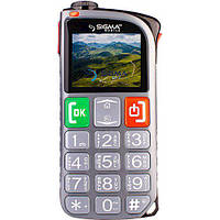 Телефон Sigma mobile Comfort 50 Light Dual SIM Grey