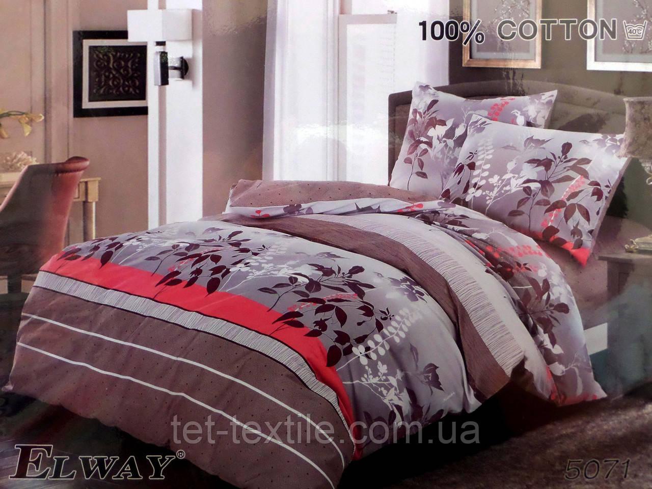 """Комплект постельного белья Elway """"Полуторное"""" 956"""