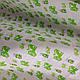 Ситець дитячий Кошенята зелений 95 см (811941), фото 2