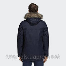 Мужская парка Adidas Xploric CY8602 темно-синяя, фото 3