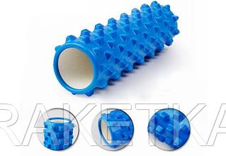 Роллер массажный (Grid Roller) для йоги, пилатеса (d-14,5см, l-45см, 1,05кг)