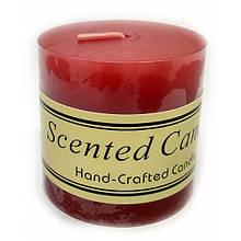 Свеча красная декоративная