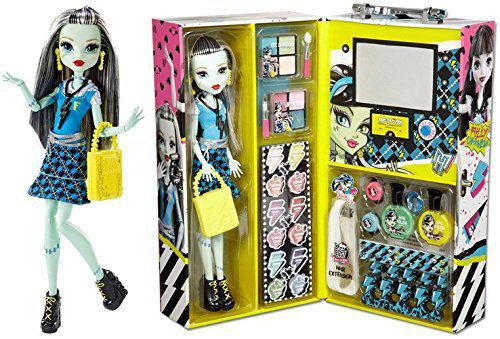 Модный Кейс Monster High и кукла Фрэнки Штейн  Fashion Doll Case Frankie Stein