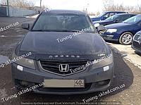 Дефлектор на капот Honda Accord 7 (2002-2006) до рестайлинга  (Хонда Аккорд)