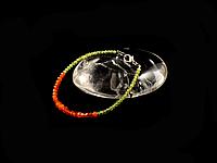 Браслет из хризолита и сердолика , фото 1