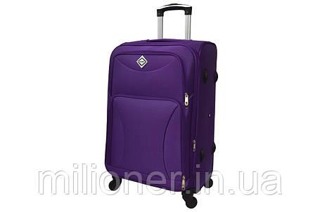Чемодан на 4 колесах Bonro Tourist (небольшой) фиолетовый, фото 2