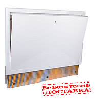 Шкаф коллекторный с замком с подключение к радиаторам Icma 197 ширина 700 мм