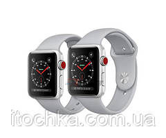 Apple Watch Series 3 GPS + LTE (MQK12) 42mm Silver Aluminum with Fog Sport Band