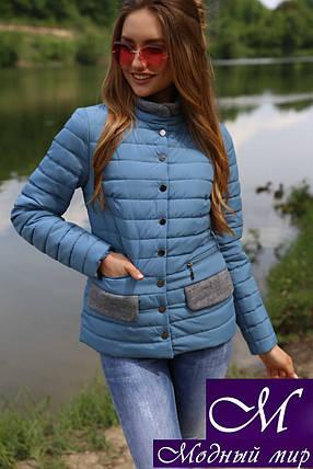 Куртка женская осень весна (р. 42-56) арт. Флорин м. волна, фото 2
