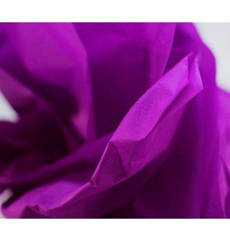 Бумага тишью фиолетовая 50х70 см.