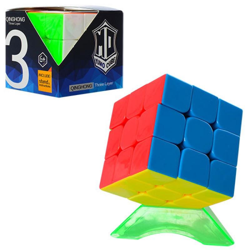 Кубик рубика QingHong YumoCube 3x3, підставка, в коробці