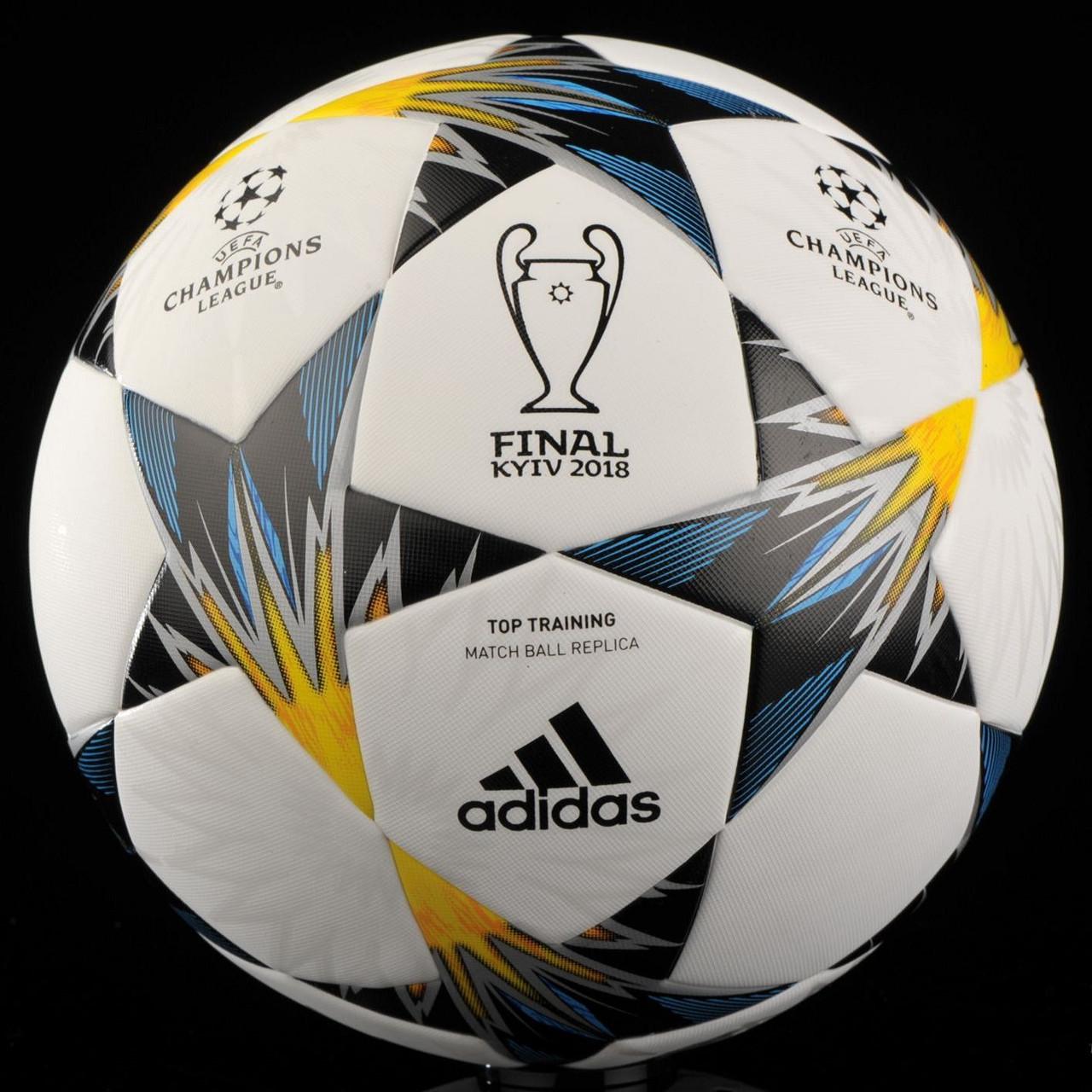 Мяч футбольный Adidas Finale Kiev 2018 Top Training - football-sale.com.ua 04472f547b03f