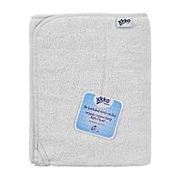 Органическое хлопковое махровое банное полотенце XKKO Organic 150x75 - белый, фото 1