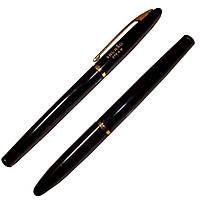 Ручка чернильная школьная, перо закрытое, поршень + картридж, фото 1