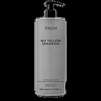 Шампунь для нейтралізації жовтизни 3DeLuxe Professional No Yellow Shampoo, 1000 мл (Італія)