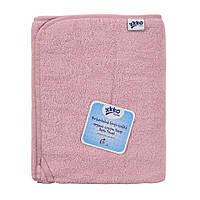 Махровое полотенце для органического хлопка XKKO Organic 150x75 - Baby Pink, фото 1