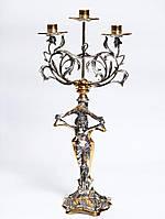 Канделябр на 3 свечи Фея