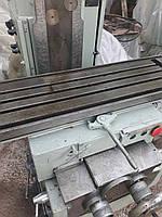 Станок универсально-фрезерный 6Т80Ш после ревизии, заводская шабровка. проверка в работе