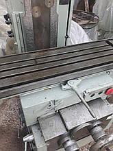 Верстат універсально-фрезерний 6Т80Ш після ревізії, заводська шабровка. перевірка в роботі