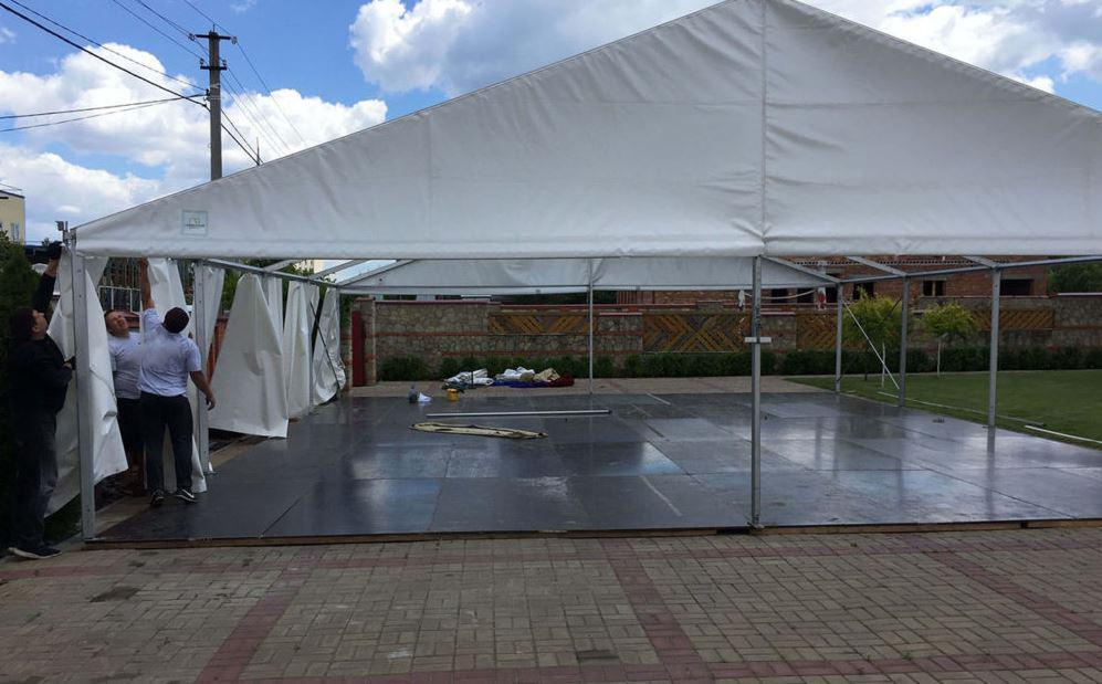 Аренда напольного покрытия под шатры тенты, от 50 кв.м