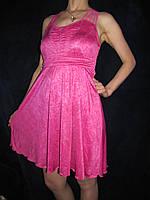 Летний молодежный сарафан, розовый, 44-46р., фото 1