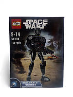 Чёрный Штурмовик Star Wars - Шарнирная фигурка Buildable Figures, фото 1