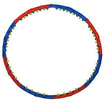 Обруч массажный Hula Hoop DOUBLE GRACE MAGNETIC. Диаметр 98см. Вес 1,5кг.