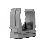 ElectroHouse Крепеж для гофротрубы Ø 20 мм, Ø отв. 6 мм, цвет серый 100 шт.