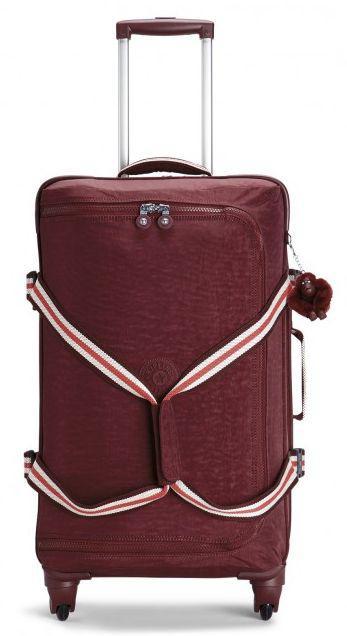 Тканевый средний чемодан Kipling CYRAH M 71 л K14858_58W, бордовый