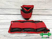 "Утяжелители для рук и ног ""HF Red "" вес 0.5 кг (2х0.250), фото 1"