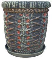 Цветочный горшок корсет 16л, фото 1
