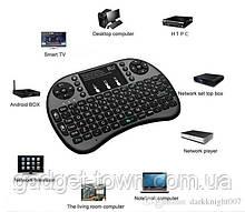 Бездротова клавіатура з тачпадом і LED підсвічуванням