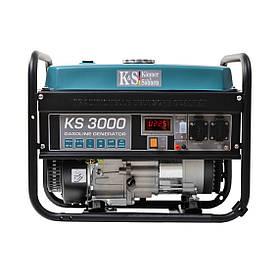 Бензиновый генератор Konner&Sohnen KS 3000 (БЕСПЛАТНАЯ ДОСТАВКА + ПОДАРОК)