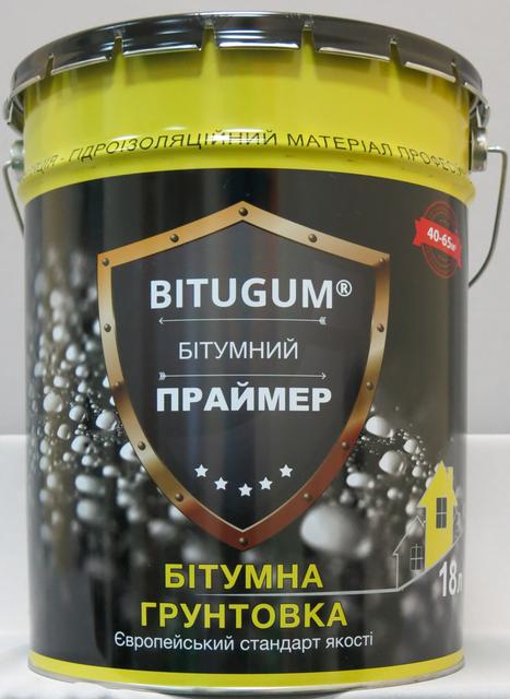 Праймер битумно-каучуковый Bitugum (18 л)