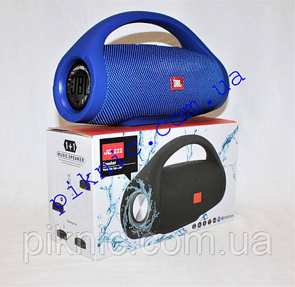 Беспроводная колонка JBL Boombox. Портативная Bluetooth колонка. Синий, фото 2