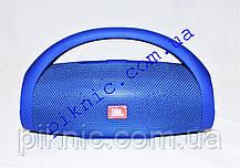 Беспроводная колонка JBL Boombox. Портативная Bluetooth колонка. Синий, фото 3