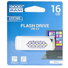 Флешка GOODRAM UCL2 16 GB белый Usb 2.0
