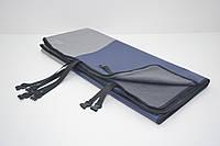 Авточехол на заднее сиденье для собак Гармония двусторонний синий, фото 1