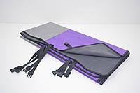 Авточехол на заднее сиденье для собак Гармония двусторонний фиолетовый