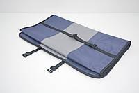 Авточехол на переднее сиденье для собак Гармония двухсторонний синий