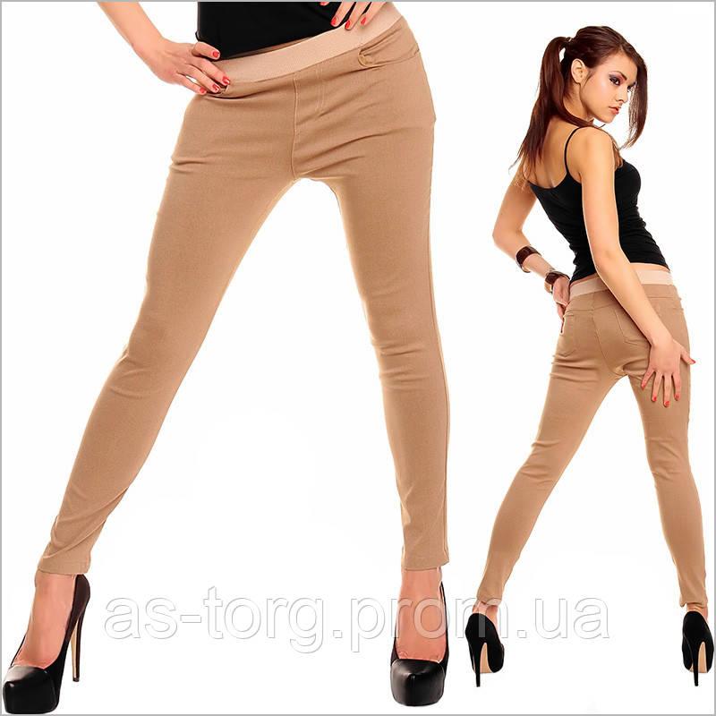 8fcb7475 Бежевые женские штаны в обтяжку, цена 203 грн., купить в Днепре — Prom.ua  (ID#63884960)