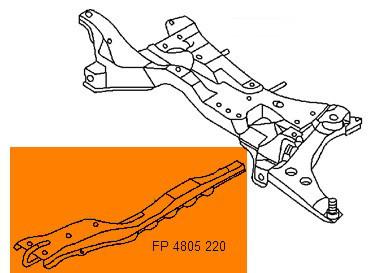 Продольная лыжа Mitsubishi Lancer 9 Mitsubishi Lancer 9 (04-08) (FPS) MR455094