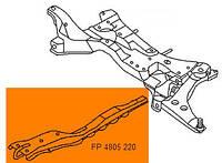 Балка продольная (лыжа) Mitsubishi Lancer 9 (04-08) (FPS)