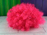 """Парик карнавальный """"Клоун"""" цвет розовый"""