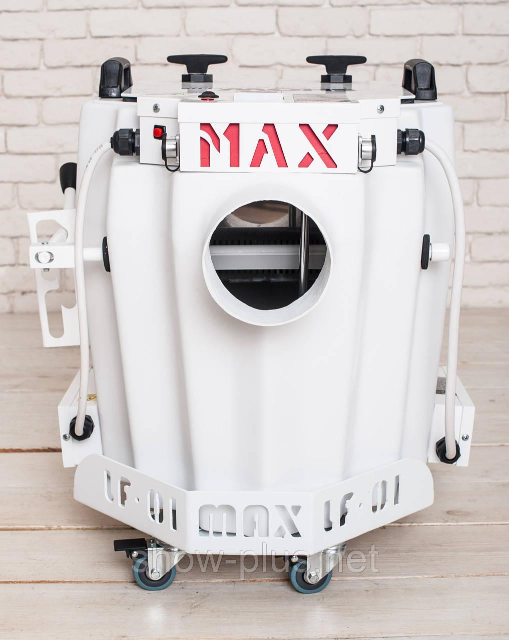 Генератор важкого диму / Генератор тяжелого низкого дыма SHOWplus LF-01 MAX Euro (White Edition)