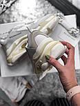 Женские кроссовки Balenciaga Triple S White Gray. Живое фото (Реплика ААА+), фото 2