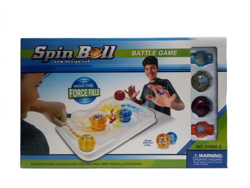 "Настольная соревновательная игра Spin Ball ""Master The ForceField'"