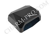 Ультрафиолетовая лампа для маникюра LED+CCFL Diamond (Черная)