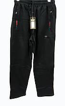 Брюки теплые Shooter зимние мужские спортивные штаны Шутер  Черные с красно-синей отделкой на карманах