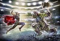 Фотообои фотошпалери Komar 8-4031 Marvel Thor and Hulk Тор и Халк 368х254 бумажные